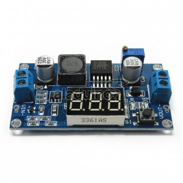 Módulo Convertidor Ajustable DC-DC Boost con Voltímetro Digital XL6009 DC-DC
