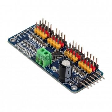 Módulo para Control de 16 Canales PWM Servo de 12 bits