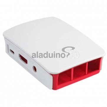 Carcasa para Raspberry 3 Rojo Oficial