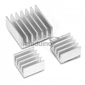 Disipadores de Aluminio para Raspberry 3