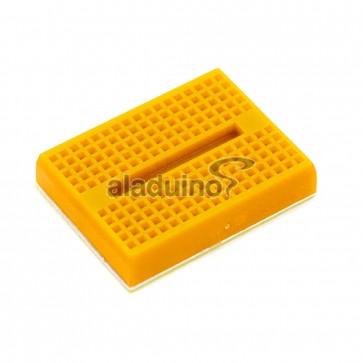 Protoboard 170 puntos color amarillo