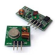 Módulos de Radiofrecuencia 315 MHz Transmisor y Receptor